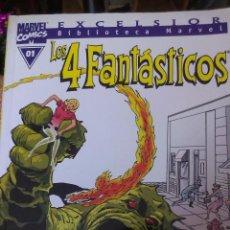 Cómics: BIBLIOTECA MARVEL LOS 4 FANTASTICOS, TOMO 01, EDITORIAL PANINI, FORUM, PLANETA, BLANCO Y NEGRO. Lote 53521447