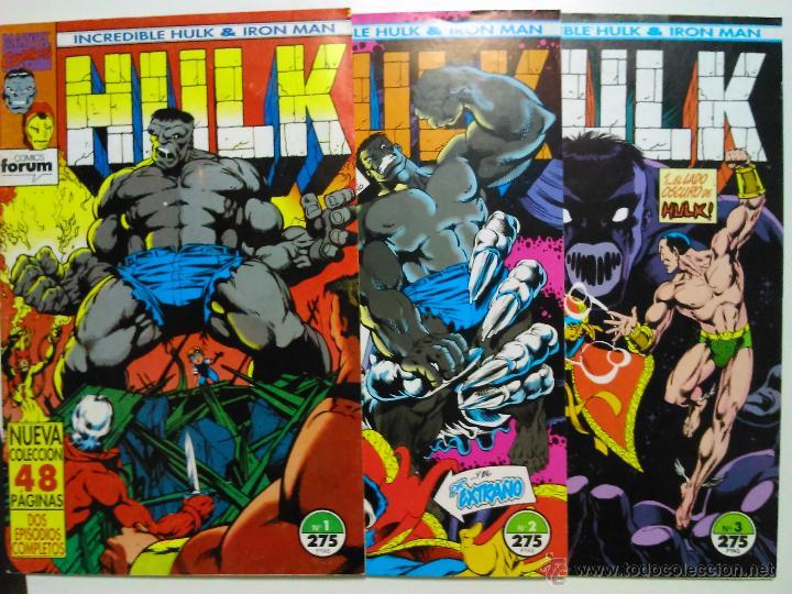 COMICS HULK IRON MAN Nº 1 A 3 (Tebeos y Comics - Forum - Hulk)