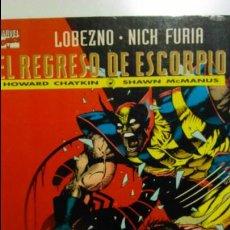Cómics: COMIC LOBEZNO NICK FURIA EL REGRESO DE ESCORPIO. Lote 53524672