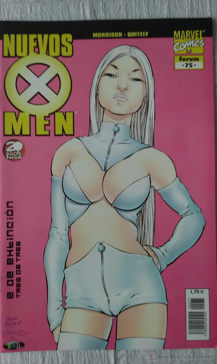COMIC MARVEL NUEVOS X MEN Nº 75, POR MORRISON Y QUITELY, ED. FORUM, 2001 (Tebeos y Comics - Forum - X-Men)