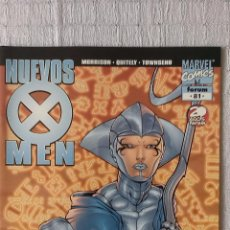 Cómics: COMIC MARVEL NUEVOS X MEN Nº 81, POR MORRISON QUITELY Y TOWNSEND, ED. FORUM, 2002. Lote 53535584
