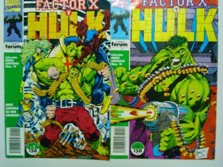COMIC HULK FACTOR X SERIES LIMITADAS Nº 1 - 2 PETER DAVID (Tebeos y Comics - Forum - Hulk)