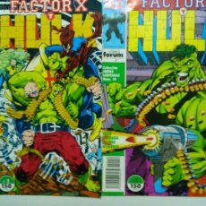 Cómics: COMIC HULK FACTOR X SERIES LIMITADAS Nº 1 - 2 PETER DAVID. Lote 53543538