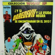 Cómics: WHAT IF Nº 2 DAREDEVIL VIUDA NEGRA 2013. Lote 205457792