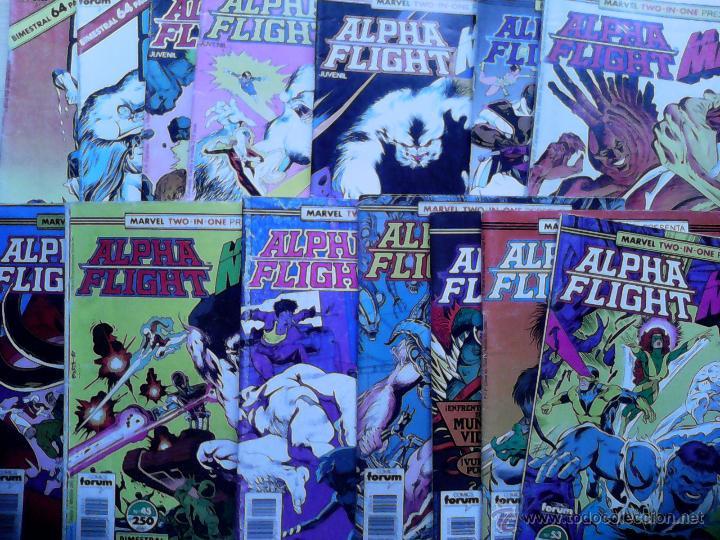 LOTE EN OFERTA: ALPHA FLIGHT. VER NÚMEROS. (Tebeos y Comics - Forum - Alpha Flight)