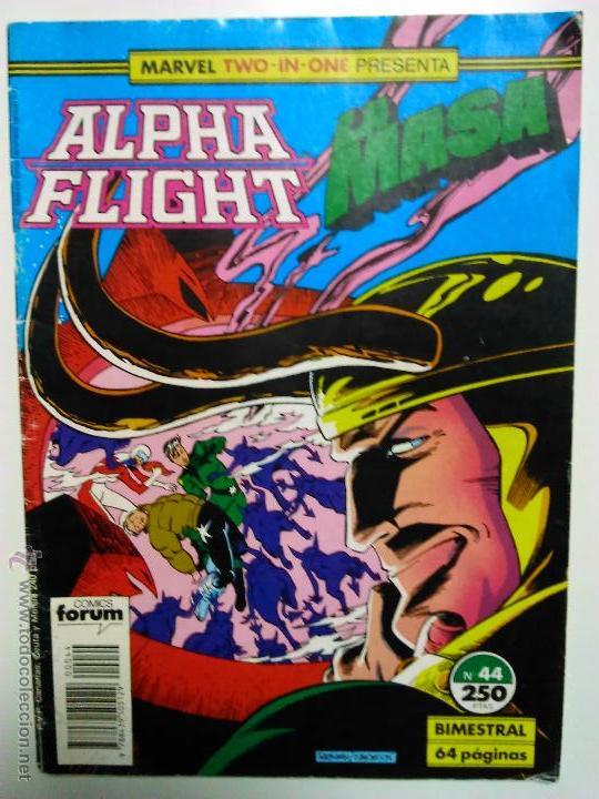 MARVEL TWO IN ONE ALPHA FLIGHT LA MASA 44 (Tebeos y Comics - Forum - Alpha Flight)
