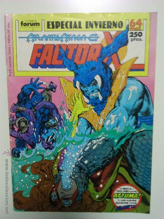 FACTOR X ESPECIAL INVIERNO: ATLANTIS ATACA (Tebeos y Comics - Forum - Factor X)