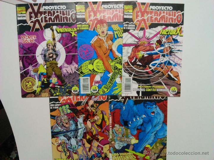COMICS PROYECTO EXTERMINIO FORUM 1992 (Tebeos y Comics - Forum - X-Men)