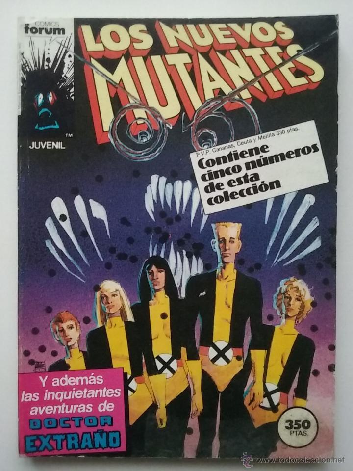 LOS NUEVOS MUTANTES - RETAPADO - NUMEROS DEL 21 AL 25 - MARVEL - COMICS FORUM (Tebeos y Comics - Forum - Nuevos Mutantes)