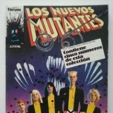 Cómics: LOS NUEVOS MUTANTES - RETAPADO - NUMEROS DEL 21 AL 25 - MARVEL - COMICS FORUM. Lote 53687242