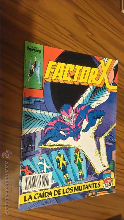 FACTOR X 22. LA CAÍDA DE LOS MUTANTES. BUEN ESTADO (Tebeos y Comics - Forum - Factor X)