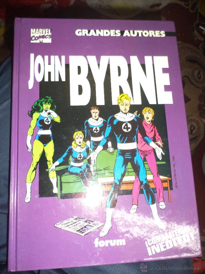 MARVEL COMICS.GRANDES AUTORES,JOHN BYRNE.FORUM 1996. (Tebeos y Comics - Forum - Prestiges y Tomos)