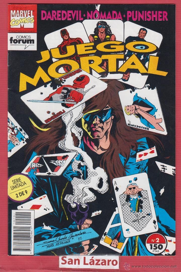 JUEGO MORTAL Nº 2 SERIE LIMITADA 1992 MARVEL COMICS FORUM ED. PLANETA DE AGOSTINI 24 PÁGINAS* (Tebeos y Comics - Forum - Daredevil)