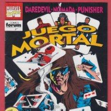 Cómics: JUEGO MORTAL Nº 2 SERIE LIMITADA 1992 MARVEL COMICS FORUM ED. PLANETA DE AGOSTINI 24 PÁGINAS*. Lote 53779125