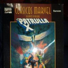 Cómics: MARVEL COMICS.CLÁSICOS BLANCO Y NEGRO.LA PATRULLA X DE ROY THOMAS Y NEAL ADAMS.FORUM.. Lote 53796884