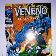 Cómics: VENENO : EL MACERO Nº 1 FORUM. Lote 53804030