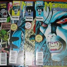 Cómics: LOTE 5 NUMEROS MORBIUS, EL VAMPIRO VIVIENTE. Lote 53826882