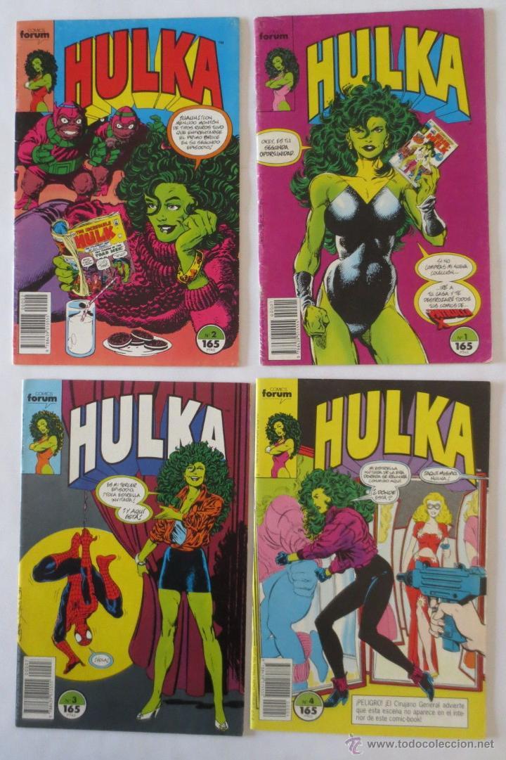 HULKA CASI COMPLETA COMICS FORUM (Tebeos y Comics - Forum - Otros Forum)