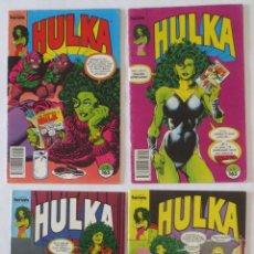 Cómics: HULKA CASI COMPLETA COMICS FORUM. Lote 53830993