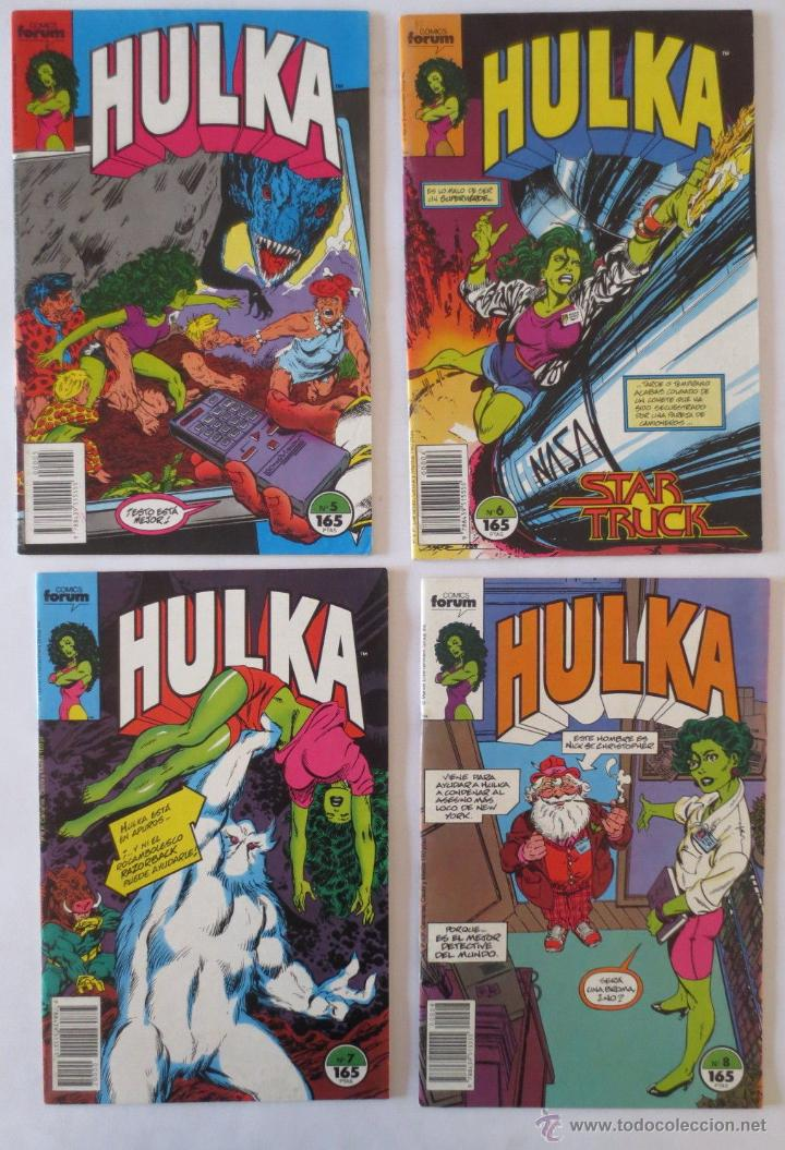 Cómics: HULKA CASI COMPLETA COMICS FORUM - Foto 2 - 53830993