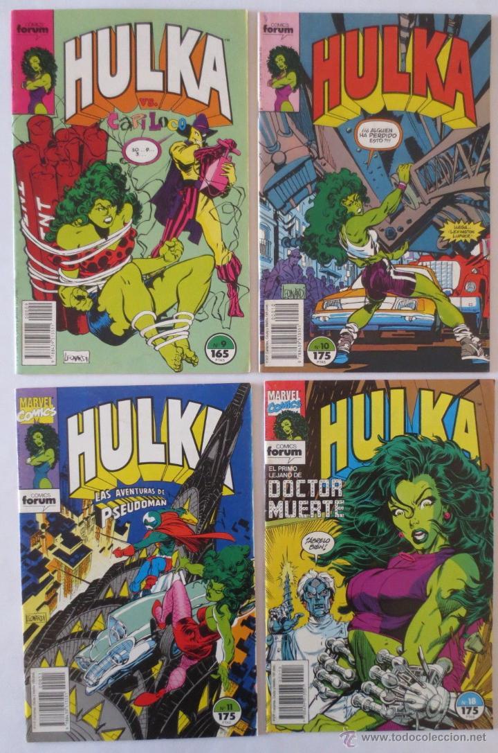 Cómics: HULKA CASI COMPLETA COMICS FORUM - Foto 3 - 53830993