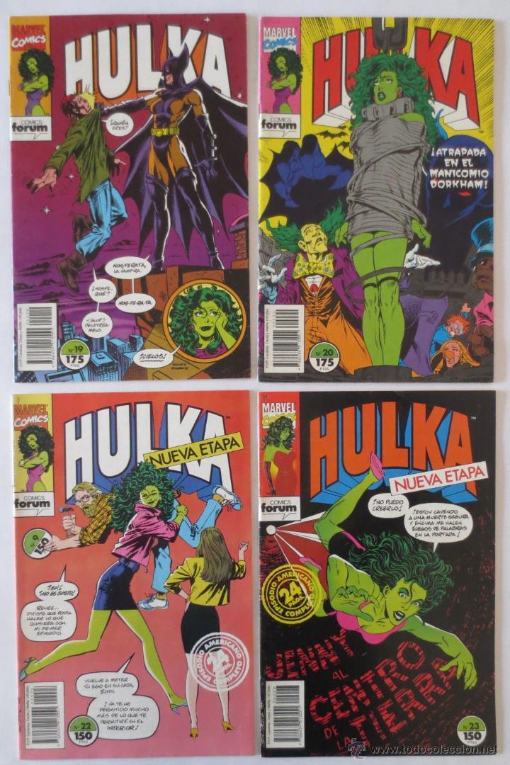 Cómics: HULKA CASI COMPLETA COMICS FORUM - Foto 4 - 53830993