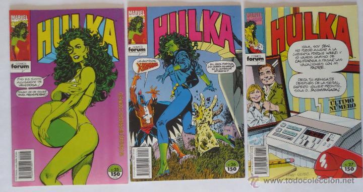 Cómics: HULKA CASI COMPLETA COMICS FORUM - Foto 5 - 53830993