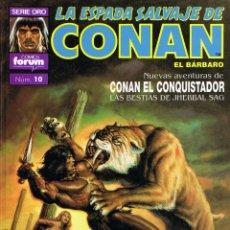 Cómics: LA ESPADA SALVAJE DE CONAN EL BARBARO TOMO 10. Lote 53847366