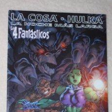 Comics: LA COSA Y HULKA ( LOS 4 FANTÁSTICOS:): LA NOCHE MÁS LARGAN.(NUMERO ESPECIAL). Lote 53970898