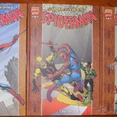 Cómics: SPIDERMAN, DE STAN LEE Y STEVE DITKO - 3 TOMOS FORUM. Lote 54014107