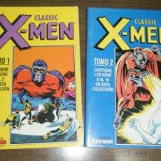 Cómics: CLASSIC X-MEN, VOL. 2 COMPLETA, TOMOS 1 Y 2, CONTIENE LOS NUMEROS 1 AL 10, DE FORUM.. Lote 54019322