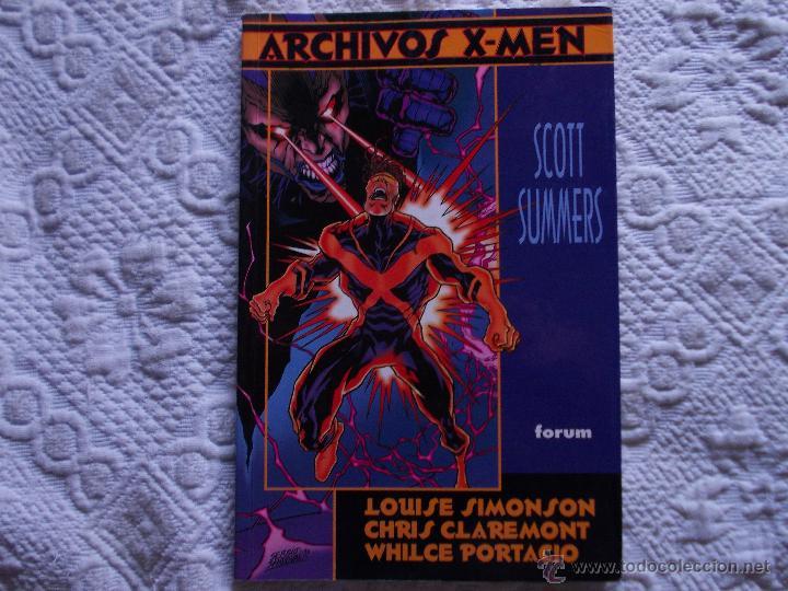 ARCHIVOS X.MEN SCOTT SUMMERS. FORUM (Tebeos y Comics - Forum - Prestiges y Tomos)