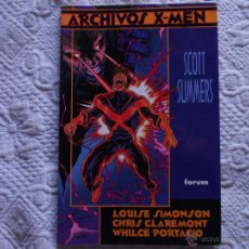 Cómics: ARCHIVOS X.MEN SCOTT SUMMERS. FORUM. Lote 54036386