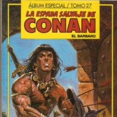 Cómics: LA ESPADA SALVAJE DE CONAN - TOMO 27 - CONTIENE Nº 122 - 123 Y 124 - FORUM -. Lote 54039035