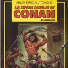 Cómics: LA ESPADA SALVAJE DE CONAN - TOMO 30 - CONTIENE Nº 131 - 132 Y 133 - EDITORIAL FORUM -. Lote 54039199