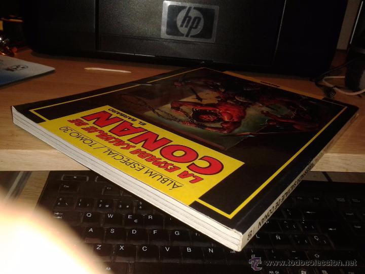 Cómics: LA ESPADA SALVAJE DE CONAN - TOMO 30 - CONTIENE Nº 131 - 132 Y 133 - EDITORIAL FORUM - - Foto 3 - 54039199