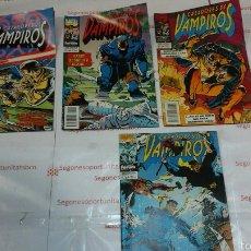 Cómics: LOTE - CAZADORES DE VAMPIROS - N°1, 2, 3 Y 7 - FORUM. Lote 54047855