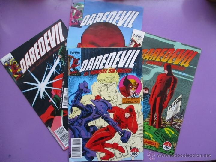 DAREDEVIL VOLUMEN 2 FORUM, VOL. 2, LOTE 4 COMICS, Nº 1,3,4,6, MUY BUEN ESTADO. JHON ROMITA. (Tebeos y Comics - Forum - Daredevil)