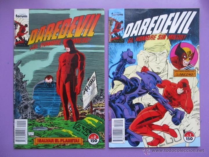 Cómics: DAREDEVIL VOLUMEN 2 FORUM, VOL. 2, LOTE 4 COMICS, Nº 1,3,4,6, MUY BUEN ESTADO. JHON ROMITA. - Foto 2 - 54101325