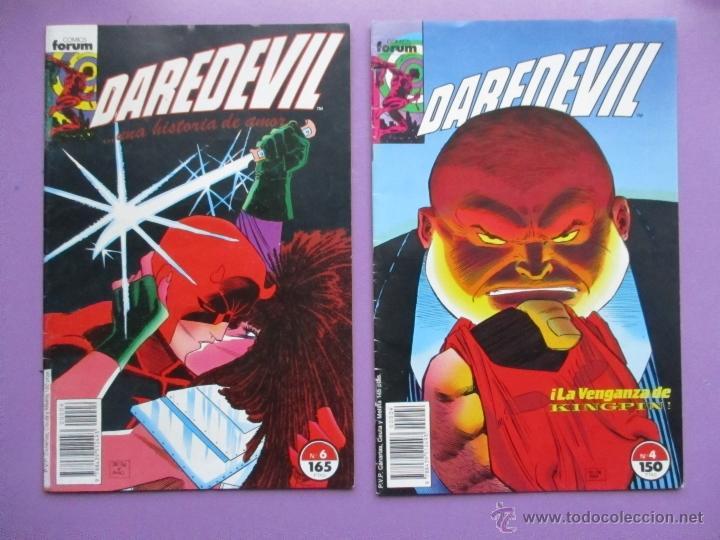 Cómics: DAREDEVIL VOLUMEN 2 FORUM, VOL. 2, LOTE 4 COMICS, Nº 1,3,4,6, MUY BUEN ESTADO. JHON ROMITA. - Foto 3 - 54101325