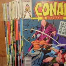 Cómics: CONAN EL BÁRBARO, 11 NÚMEROS, ED. CÓMICS FORUM, 1984, VER DESCRIPCIÓN. Lote 54111803