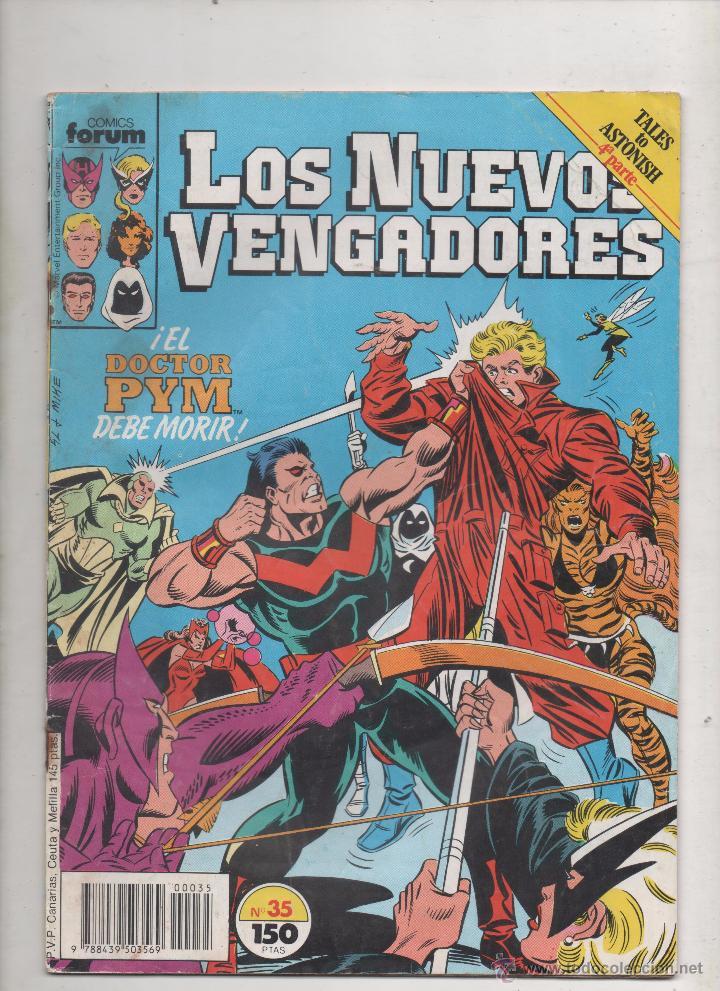 LOS NUEVOS VENGADORES Nº 35.DA (Tebeos y Comics - Forum - Vengadores)