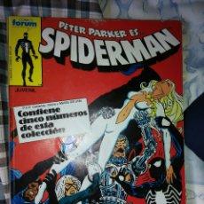 Cómics: PETER PAKER ES SPIDERMAN , DEL NUMERO 121 AL 125. Lote 54026154