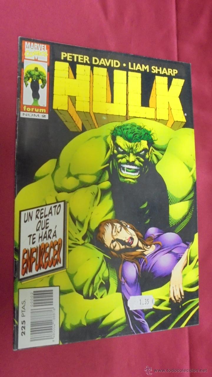 HULK. Nº 2. PETER DAVID. LIAM SHARP . FORUM. (Tebeos y Comics - Forum - Hulk)