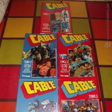 Cómics: CABLE 5 TOMOS RETAPADOS(COLECCIÓN COMPLETA).. Lote 54147786
