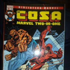 Cómics: BIBLIOTECA MARVEL .LA COSA MARVEL TWO IN ONE.PANINI COMICS.LOTE DE 14 VOLÚMENES.. Lote 54152295