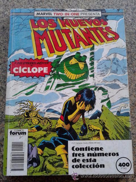 LOS NUEVOS MUTANTES NUMEROS 51 A 53 EN UN RETAPADO. FORUM. (Tebeos y Comics - Forum - Nuevos Mutantes)