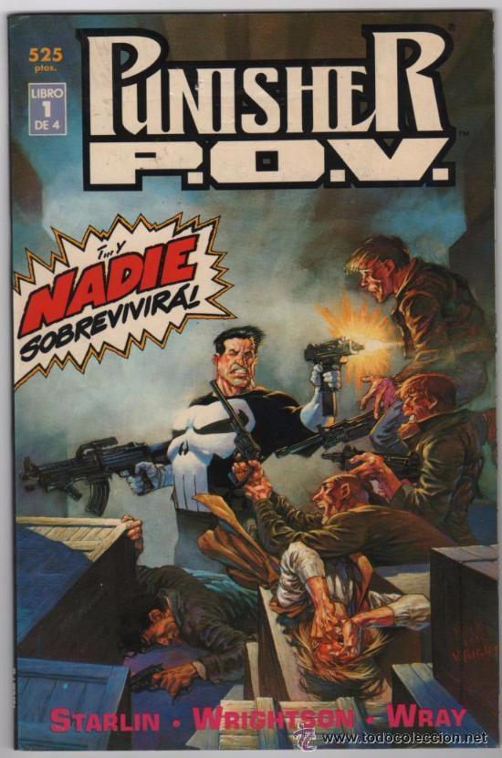 PUNISHER: P.O.V: COMPLETA EN 4 PRESTIGES: BERNI WRIGHTSON: FORUM (Tebeos y Comics - Forum - Prestiges y Tomos)