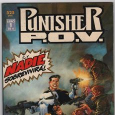 Cómics: PUNISHER: P.O.V: COMPLETA EN 4 PRESTIGES: BERNI WRIGHTSON: FORUM. Lote 54179233