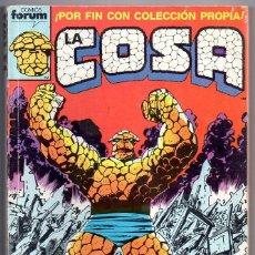 Cómics: LA COSA RETAPADO Nº 1,2,3,4,5. FORUM 1989. Lote 188773150